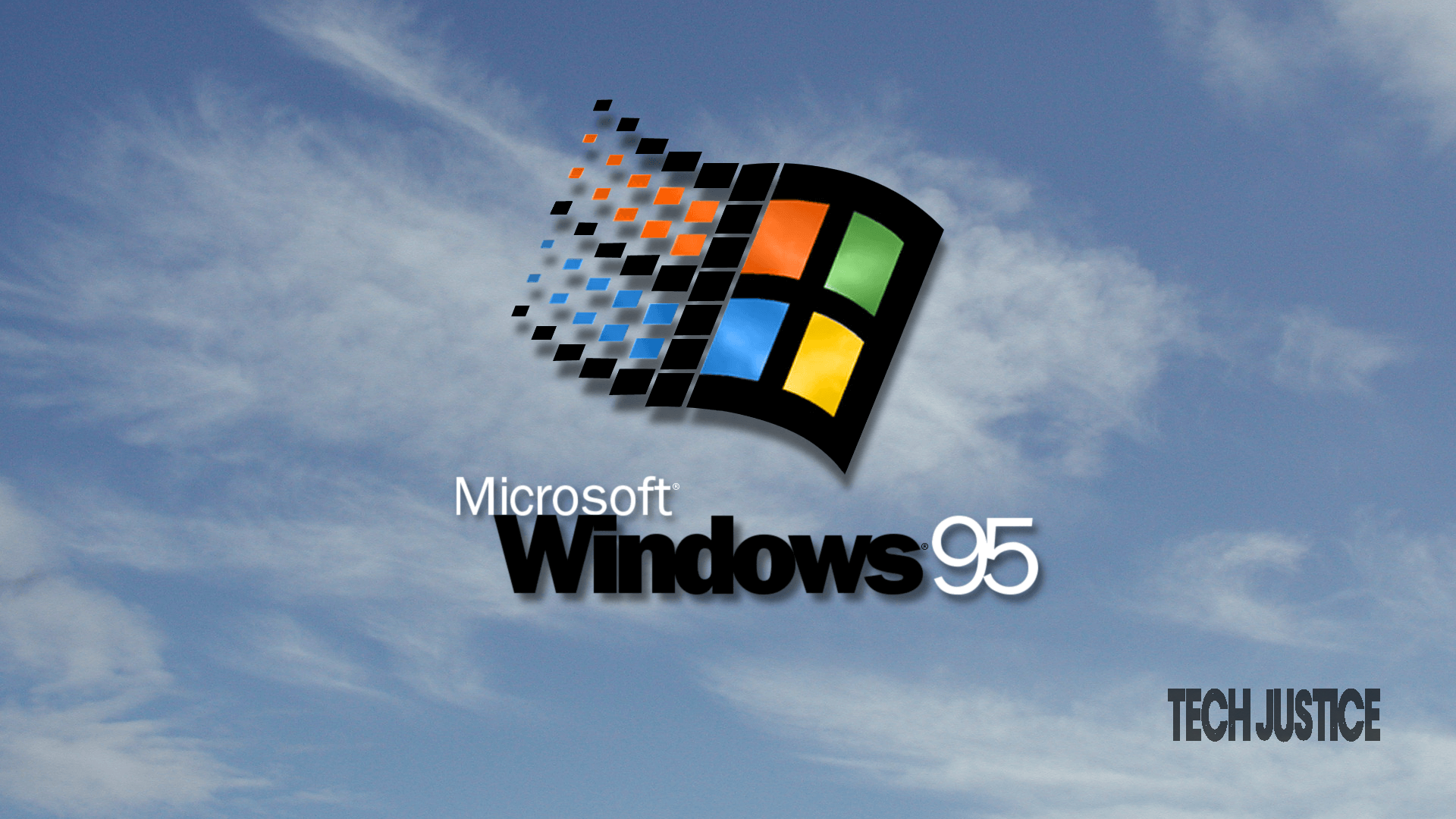 windows 95 Tech Justice