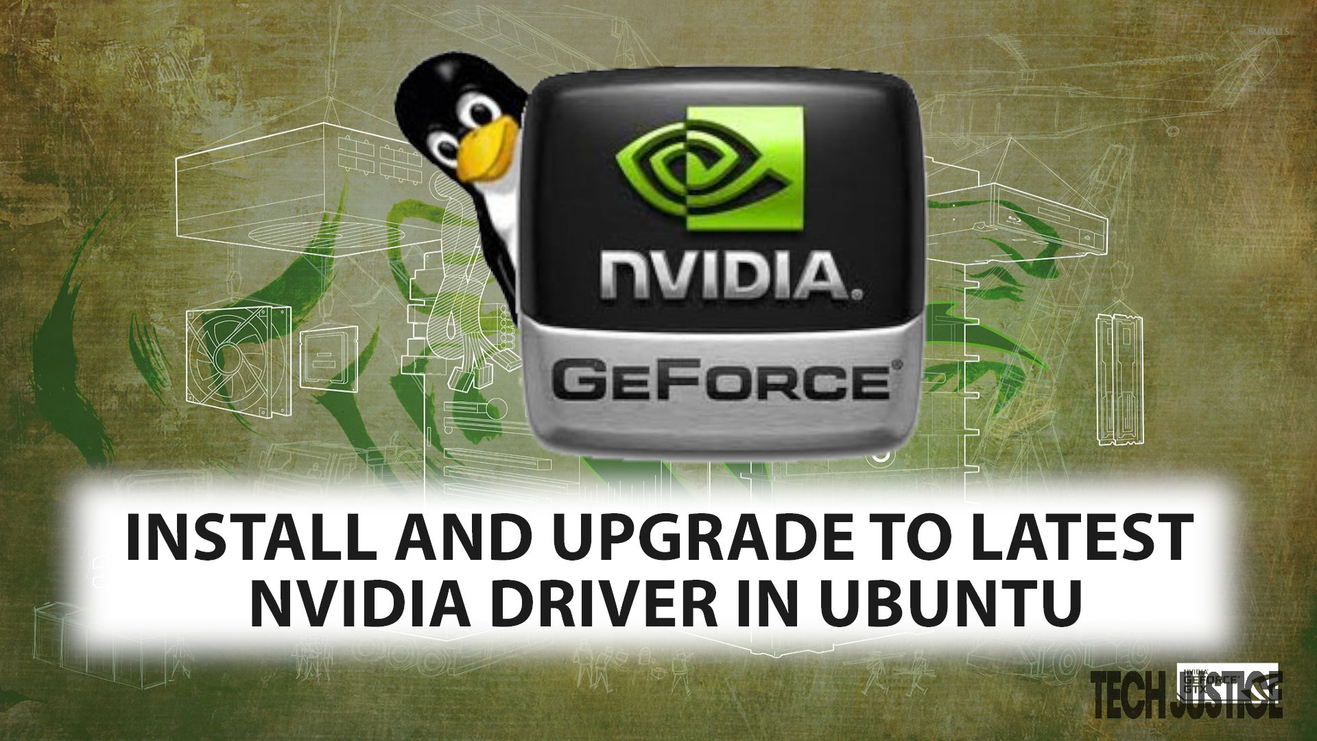 install nvidia driver - Tech Justice