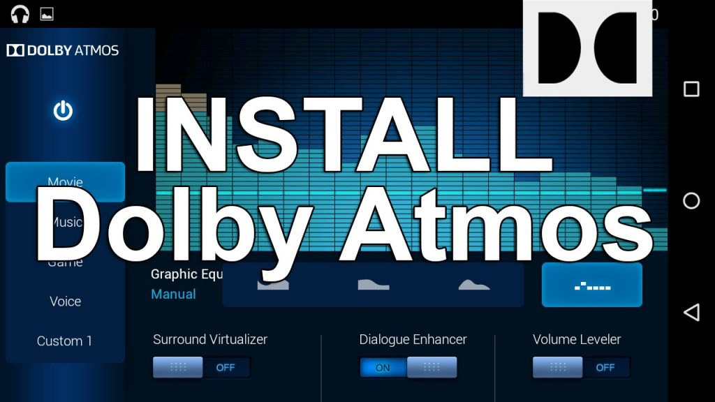 Dolby Atmos Port For Marshmallow and Above Android Device