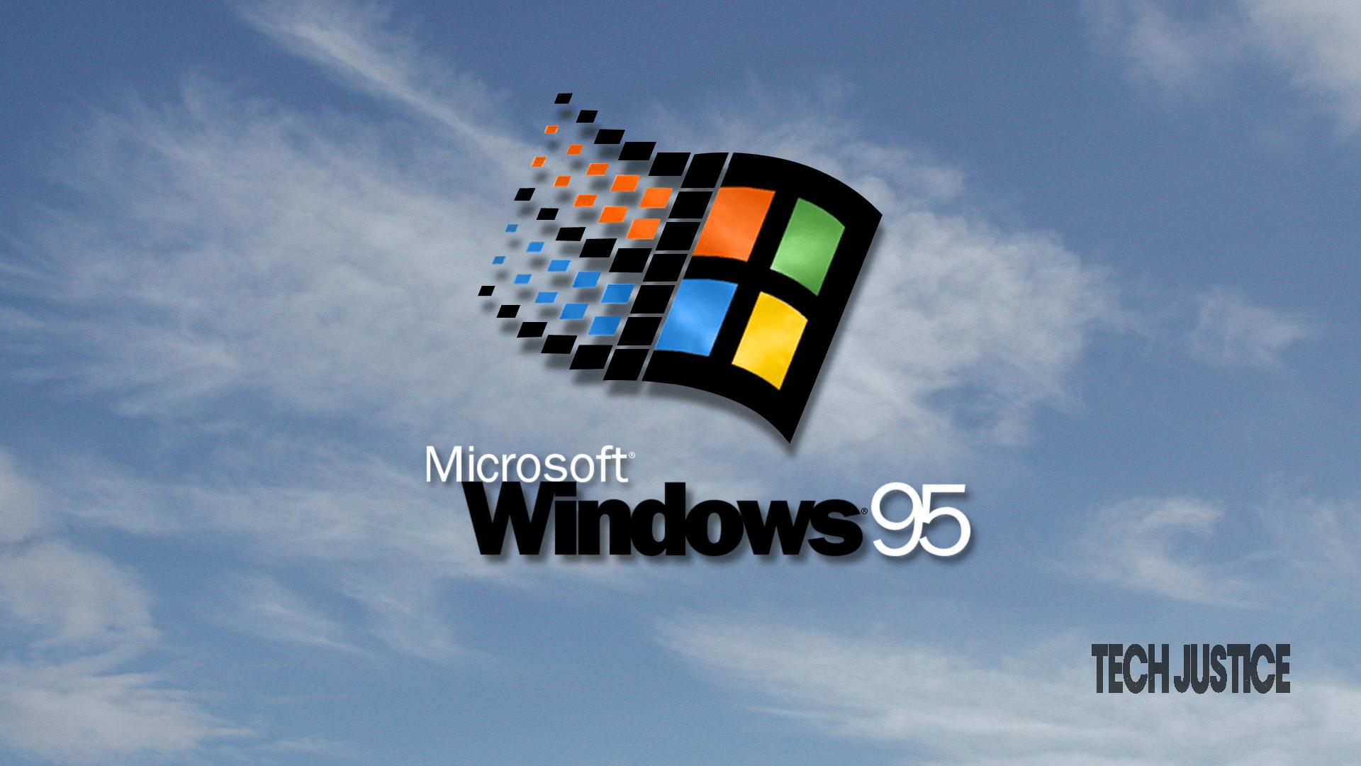 windows 95 Tech Justice